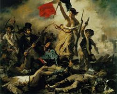 Eugene Delacroix Liberty Leading The People, 1830