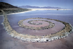 Robert Smithson, spiral-jetty, 1970