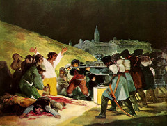 Francisco Goya, The Executions of May 3rd, 1808